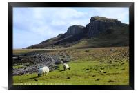 Staffin Beach, Framed Print