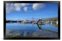 Mallaig Marina, North West Scotland, Framed Print