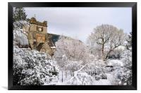 Snow Scene in Betws-y-Coed, Framed Print
