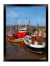 Norfolk Fishing Boats, Framed Print