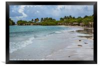 Cayo Coco after sunrise, Framed Print