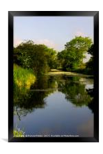 Driffield Canal, Framed Print