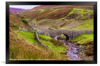 Old Gang Beck, Reeth High Moor, Framed Print