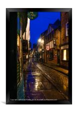 The Shambles, York, Framed Print