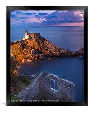 Portovenere Evening, Framed Print