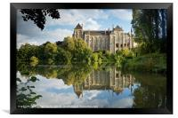 Solesmes Abbey, Framed Print