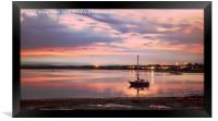 Reflections at Ravenglass, Framed Print