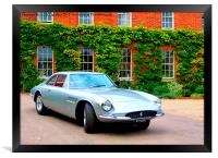 Iconic Ferrari at Hedingham Castle, Framed Print