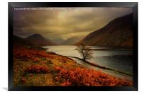 Wast Water and the Screes, Framed Print