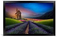 surrounded by beauty , Framed Print