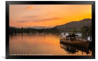 Ambleside Sunset, Framed Print