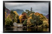 Derwent Isle in the Autumn, Framed Print