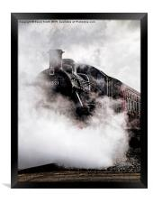 Lost in Steam, Framed Print