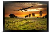 Low pass, Framed Print