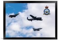 617 Squadron, Past Present and Future, Framed Print