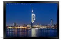 Portsmouth Harbour and The Spinnaker Tower, Framed Print