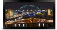 On top of the Toon, Framed Print