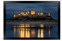 Twilight at the Castle, Framed Print