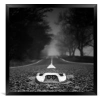 Middle of the Road, Framed Print