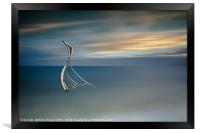 Rising from the Waves, Framed Print