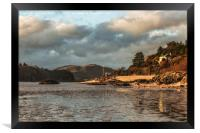 West From Rockcliffe to Kippford, Framed Print