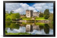 Sizergh Castle and gardens, Framed Print