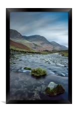 Gatesgarthdale Beck #4, Framed Print