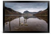 Fleetwith Reflections, Framed Print