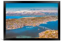 Tromsø the Paris from the north, Framed Print