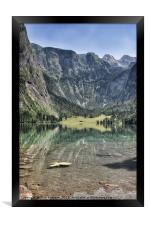 Obersee Blick, Framed Print