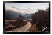 The Sisters of Kintail, Framed Print