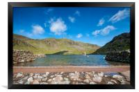 Levers Water, Framed Print