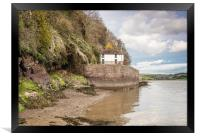 Boathouse at Laugharne - Dylan Thomas, Framed Print