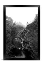 Falls of Foyers, Framed Print