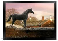 The Royal Stud (2), Framed Print