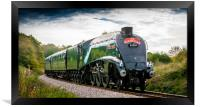 LNER Class A4 4488/60009 Union of South Africa 2, Framed Print