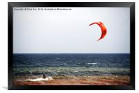 Kite Surfer, Framed Print