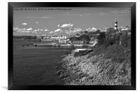 Plymouth Foreshore, Framed Print