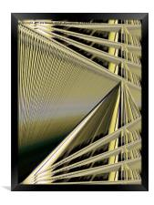 Threads on the Loom of Life, Framed Print