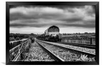 Corby Steel Works to Margam Coil Train, Framed Print