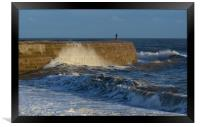 The Cobb look out, Framed Print