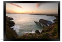 Padstow Lifeboat Station, Framed Print