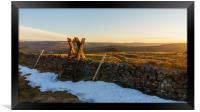 Welcome to Weardale, Framed Print