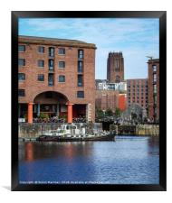 Royal Albert Dock and Liverpool Cathedral, Framed Print