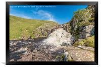 Cauldron Snout Waterfall, Upper Teesdale, Framed Print