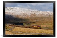 66117 at Ribblehead - Yorkshire Dales , Framed Print