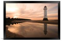 Perch Rock Lighthouse, Framed Print