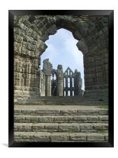 Whitby Abbey , Framed Print