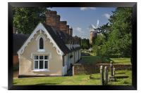 Thaxted Mill and Cottages, Framed Print