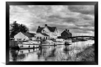Crown and Anchor, Framed Print